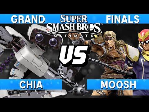 Smash Ultimate Tournament Grand Finals - Chia (ROB) vs Moosh (Captain Falcon / Simon) - S@LT 178 thumbnail