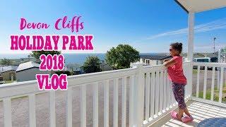 DEVON CLIFFS Holiday Park Vlog Platinum Caravan Vacation 2018