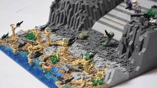 LEGO Star Wars Clone Base on Alderaan