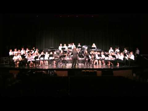 Prairie Hills Middle School Band and Dallas Brass 12-10-2012