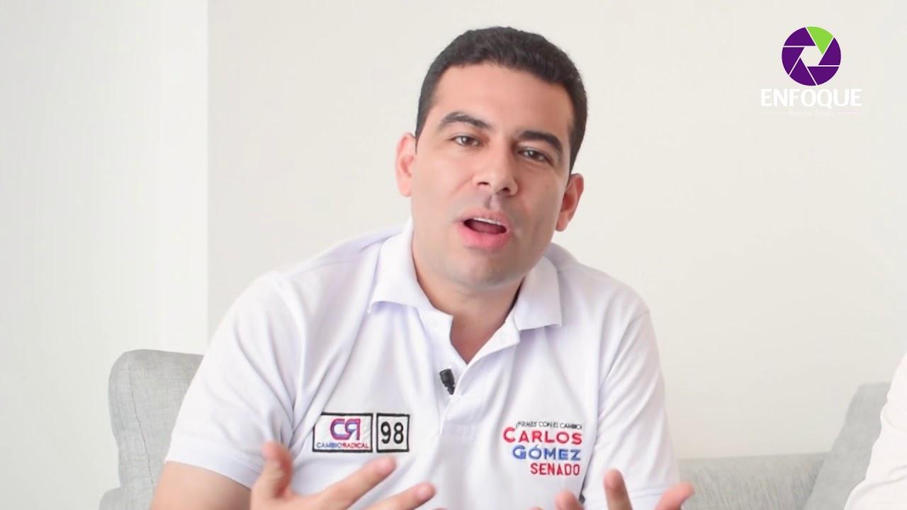 Enfoque Carlos Gómez