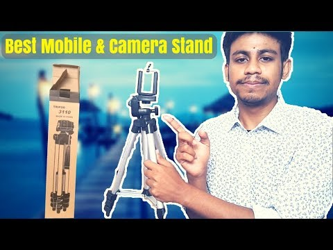 Tripod 3110 Unboxing And Review Bangla !!! The Best Smartphone And Camera Stand In Bangladesh !!!