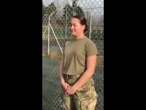 When A Hot Girl Join Army Training