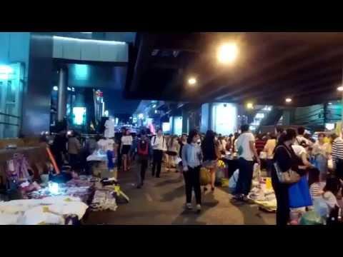 Shutdown Bangkok Restart Thailand Protests Asok BTS