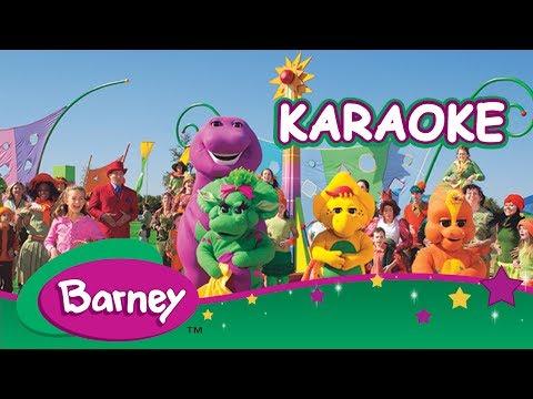 ♪ ♫ Barney Latinoamérica ♪ ♫ Cantando Karaoke con Barney!
