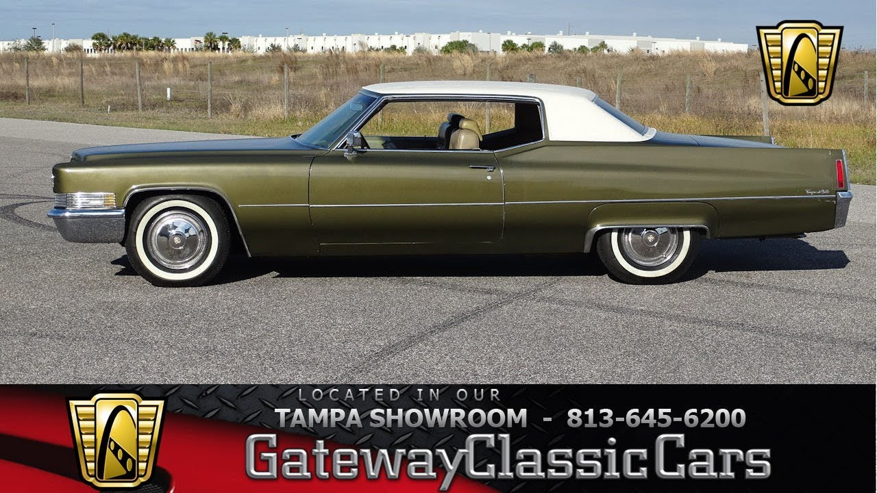 1101 Tpa 1970 Cadillac Deville 472 Cid V8 7 7l 3 Speed Automatic