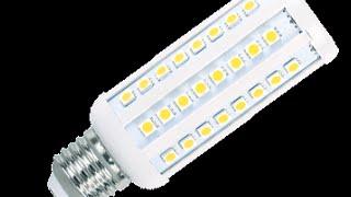 Обзор №12 LED Lamp 60 светодиодов 15W = 100W