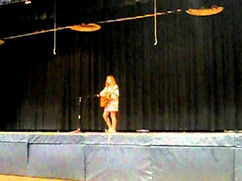 "Frannie Koback ""Falling Your Way"" Holy Trinity Catholic Middle School Talent Show"