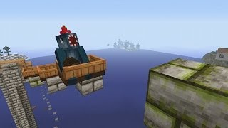 Minecraft Xbox - The Tree Of Life - Boat Parkour [2]