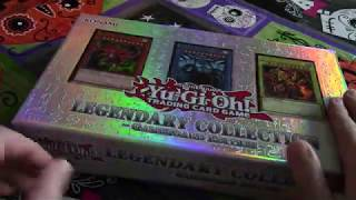 "Yu-Gi-Oh! Legendary Collection ""unboxing"" ASMR"