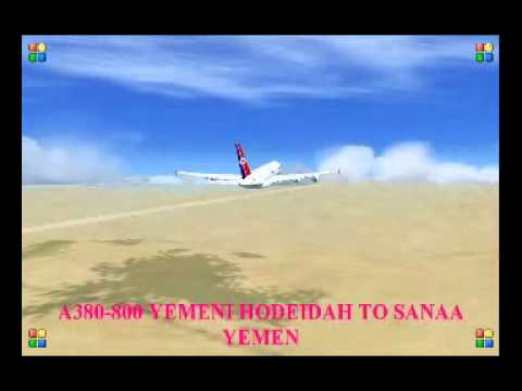 A380 800 YEMENI HODEIDAH TO SANAA YEMEN