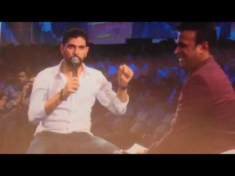 yuvraj singh talking about Saurav Ganguly (Rare Interview) must watch..