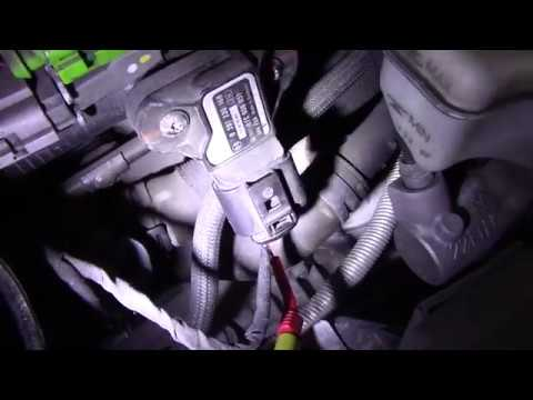 2010 Volkswagen Jetta 25L- P2433 Secondary Air Pressure Sensor
