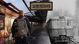 Заброшенная железная дорога в Берлине - SiemensBahn. Сталк с МШ.