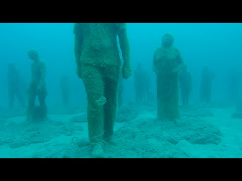 Underwater Museum dive - Canary Islands
