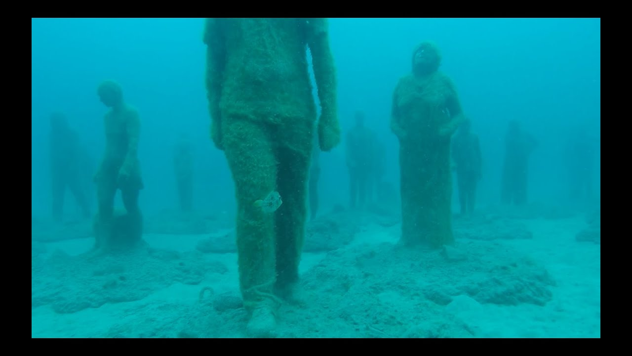 Underwater museum dive canary islands youtube for Spain underwater museum