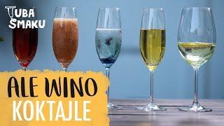 ALE WINO: koktajle na bazie wina musującego! | Tuba Smaku