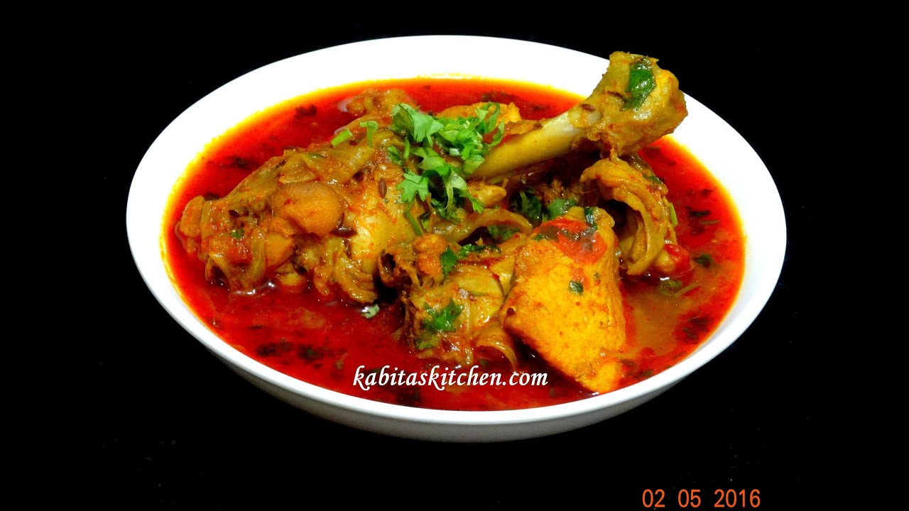 Super Easy Chicken Curry-Chicken Curry in Pressure Cooker ...