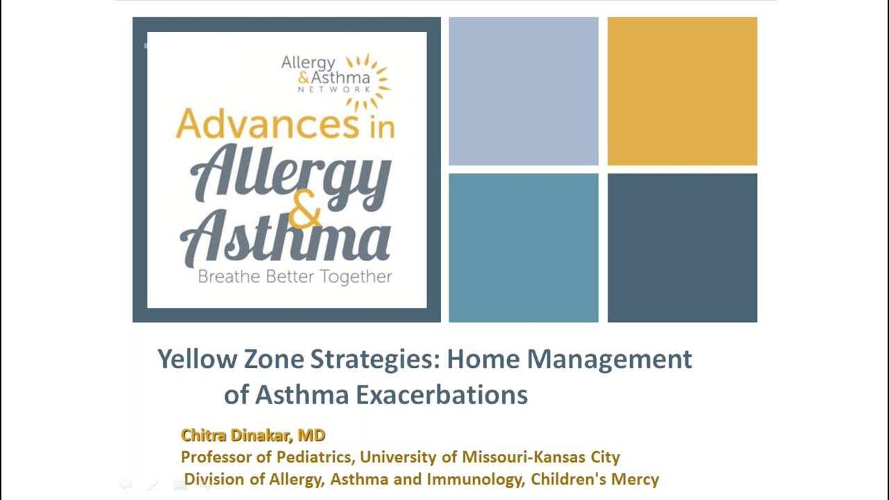 Asthma Home Management - Asthma Lung Disease