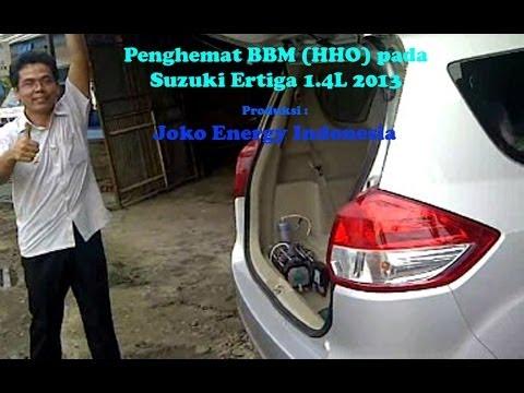 HHO Joko Energy on Suzuki Ertiga 2013