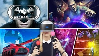 Top 15 PS VR Games - (Top PlayStation VR Games)
