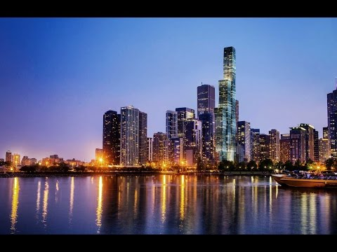 UPDATE 5/2017VISTA TOWER 362m 1186ft 98 fl IN CHICAGO Skyfame Center Landmark Tower in NANNING China