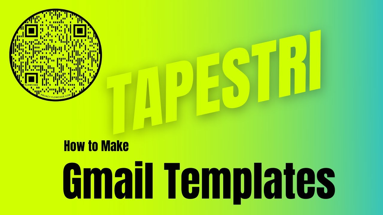 How to Create Email Templates for Tapestri #Tapestri https ...