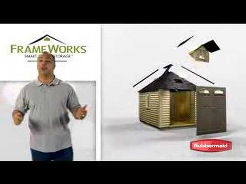 Rubbermaid Outdoor Shed Embly