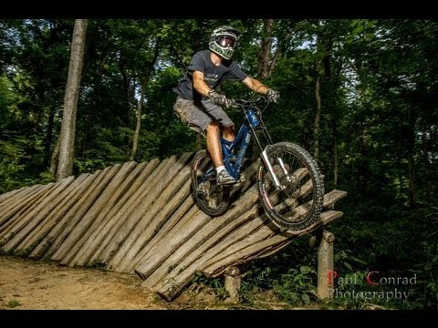 Mountain bike free ride and down hill in Kentucky