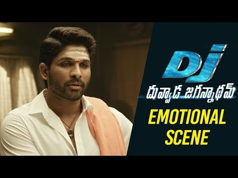 DJ Duvvada Jagannadham Scenes - Allu Arjun Emotional Scene with Vennela Kishore Parents