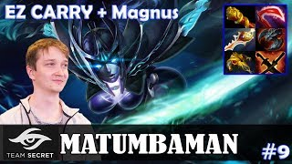 MATUMBAMAN - Phantom Assassin Safelane | EZ CARRY + Magnus | Dota 2 Pro MMR Gameplay #9