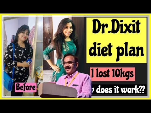 I followed Dr Dixit diet plan for weight loss | जगन्नाथ दीक्षित  Effortless Weightloss diet in HINDI
