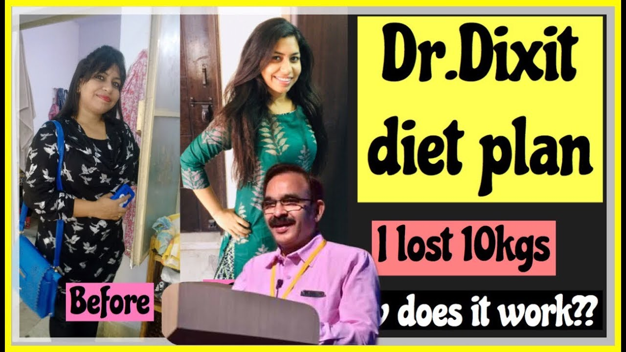 I Followed Dr Dixit Diet Plan For Weight Loss जगन न थ द क ष त Effortless Weightloss Diet In Hindi Youtube