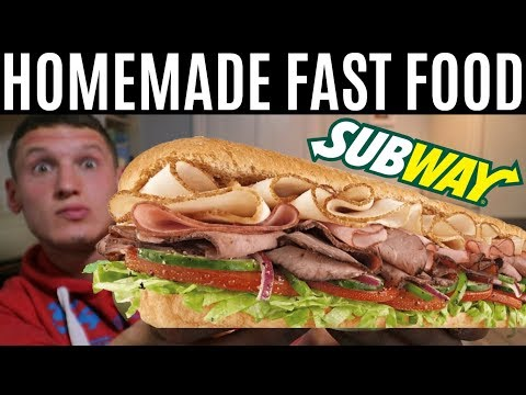 HOMEMADE FAST FOOD | Full Day of Eating