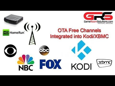 OTA Live TV XBMC Kodi Integration HDHOMERUN Extend Dual