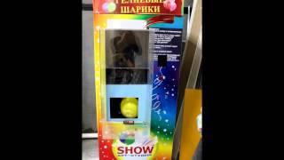 видео Украшение шарами торгового центра к 9 мая