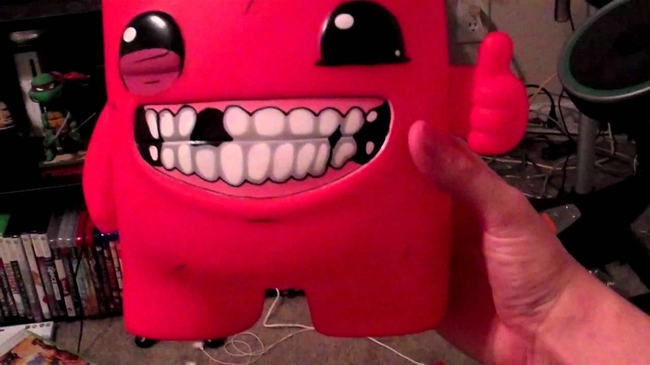 Fantastic Super Meat Boy Vinyl Figure - YouTube WV45