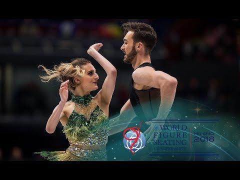 Gabriella Papadakis and Guillaume Cizeron (FRA) - Short Dance - Milano 2018