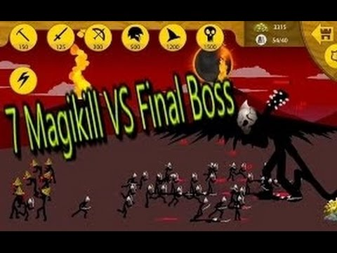 Final Boss with Full Magikills | Stick War Legacy | Stickman War Games