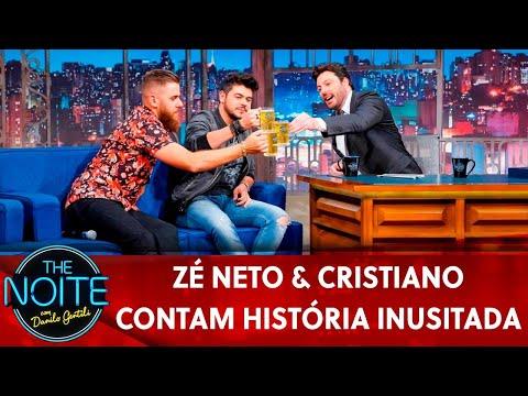 Exclusivo para web: Zé Neto & Cristiano contam história inusitada   The Noite 220519