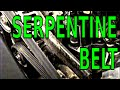 How I replace and fix a SERPENTINE BELT noise chirp sqeaks GM 3800 V6 3.8 L Grand Prix 3.8L cars