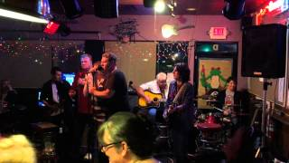 Hudson Bend Band- Blue on Black (Kenny Wayne Shepherd cover)