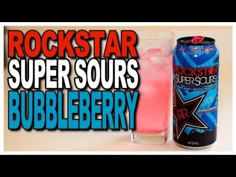 Rockstar Super Sour Bubbleberry Review