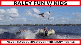 Big Wakes And Raleys Over Kids