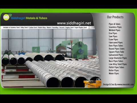 Seamless Pipe Erw Pipes Welded Tubes Fabricated ASME SB 163 Inconel / Nickel Alloys Stainless Steel