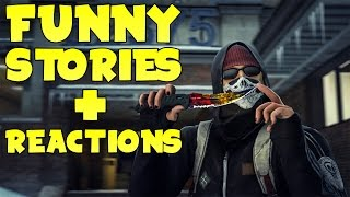 THE CS:GO DIARIES (Funny Stories + Reactions)