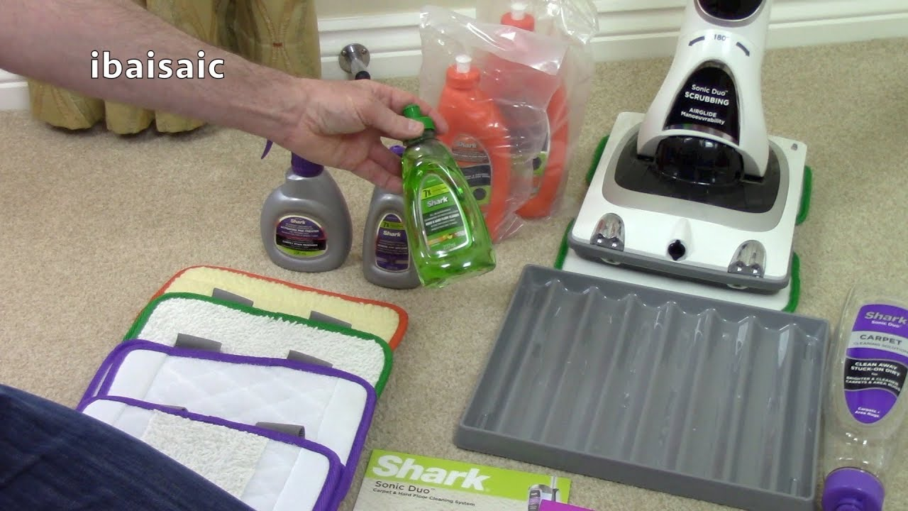 Shark Sonic Duo Carpet Amp Floor Cleaner Unboxing Amp First