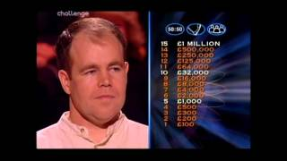Series 8 Who Wants to be a Millionaire 23rd October 2000