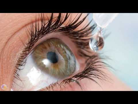Попадание в глаз суперклея