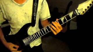 FireHouse - Lover's Lane - guitar cover